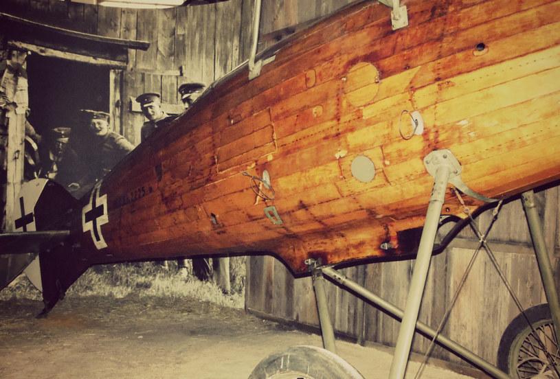 W Muzeum Lotnictwa Polskiego można obejrzeć kadłub Rolanda CL.II. Tego typu samolot zaatakował sowieckie okręty na Pinie /INTERIA.PL
