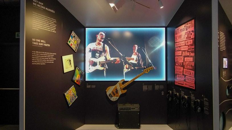 W Muzeum Miasta Gdyni doceniono też twórców muzyki /Styl.pl