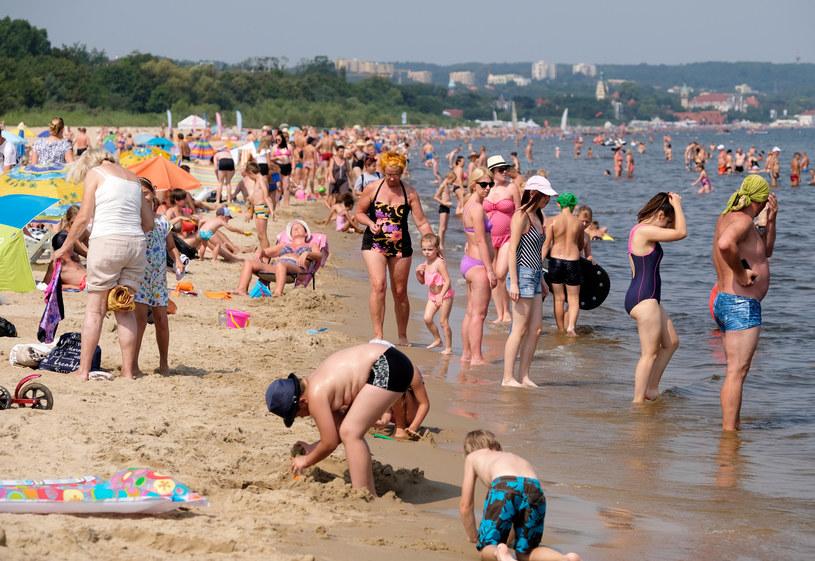 W nadchodzącym tygodniu szykuje się pogoda idealna na plażowanie /Łukasz Solski /East News