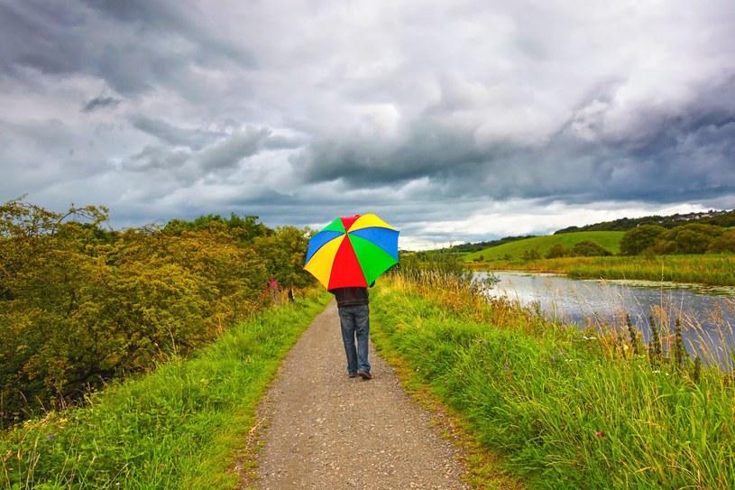 W najbliższych dniach będzie deszczowo /123RF/PICSEL