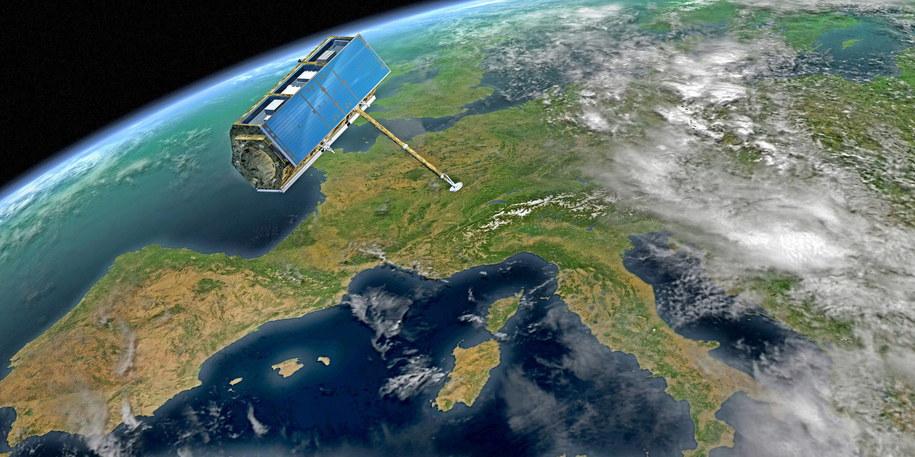 W najbliższych dniach w okolicach Ziemi przelecą dwie spore planetoidy. Zdjęcie ilustracyjne / DB Astrium GmbH /PAP/EPA
