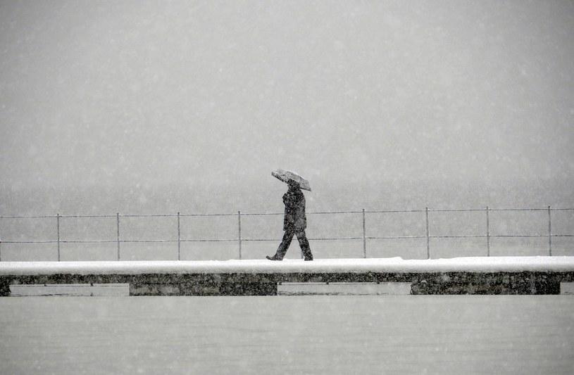 W najbliższych dniach znowu zobaczymy śnieg /Tomasz Jodłowski /Reporter