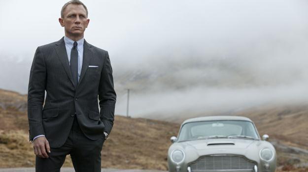 W najnowszym filmie o przygodach 007 samochodem Jamesa Bonda jest Aston Martin DB5 /materiały prasowe