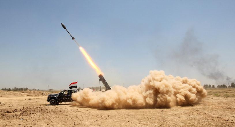 W nalocie bombowym zginął dowódca sił Państwa Islamskiego w Faludży /AHMAD AL-RUBAYE /AFP