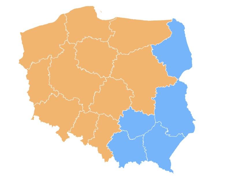 W naszej sondzie PiS wygrywa na wschodzie kraju /INTERIA.PL