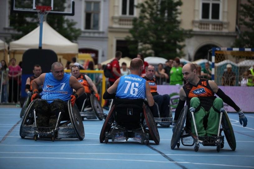 W niedzielę 8 czerwca płyta Rynku Głównego zamieni się w arenę zmagań niepełnosprawnych sportowców /materiały prasowe