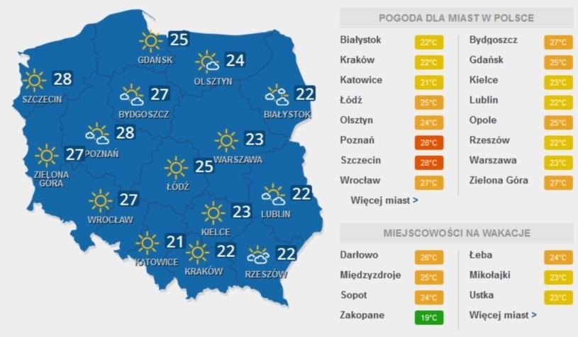 W niedzielę będzie bardzo słonecznie /INTERIA.PL