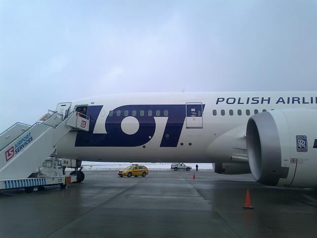 W niedzielę Dreamliner nie poleciał do Monachium, dzisiaj do Londynu... Fot. Krzysztof Mrówka /INTERIA.PL