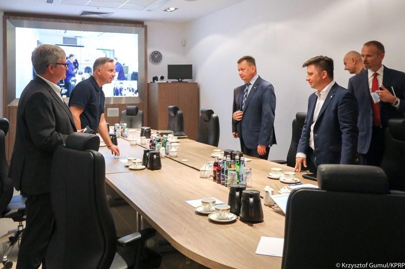W niedzielę odbyła się w Biurze Bezpieczeństwa Narodowego posiedzenie dotyczące m.in. sytuacji związanej z Afganistanem /Krzysztof Gumul/KPRP /