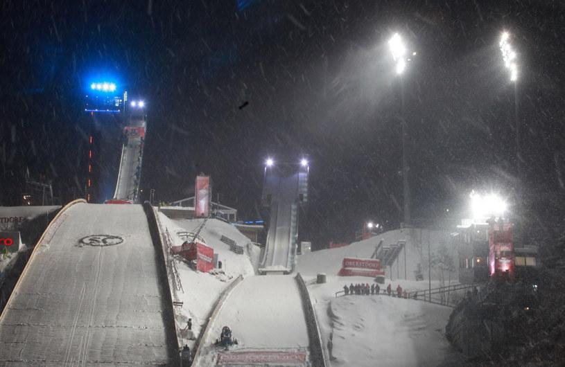 W niedzielę w Oberstdorfie nie dało się skakać /fot. Grzegorz Momot /PAP
