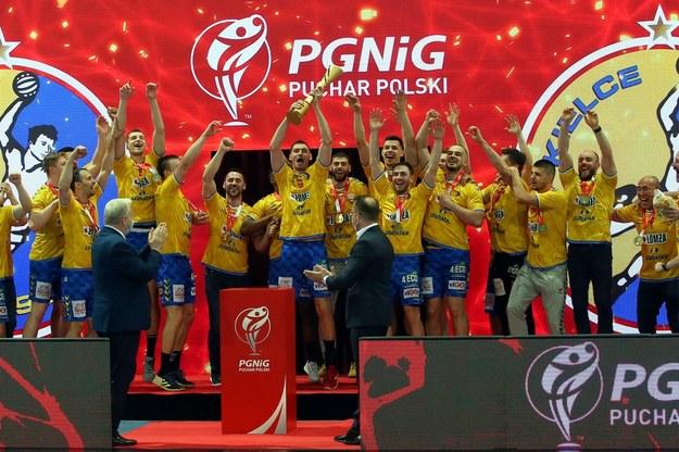 W niedzielę zespół Łomża Vive Kielce zdobył też Puchar Polski piłkarzy ręcznych /Tomasz Wojtasik /PAP