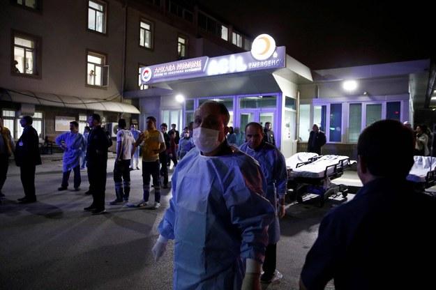 W niedzielnym zamachu rannych zostało ponad 120 osób /aa /PAP/EPA