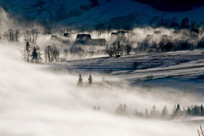W niektórych regionach kraju zrobiło się biało /Marcin Kin/ Fotonova /East News