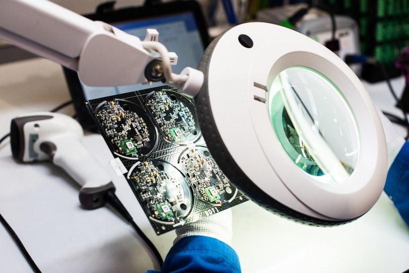 W nowej fabryce Fibaro powstają sprzęty wysyłane na cały świat /materiały prasowe
