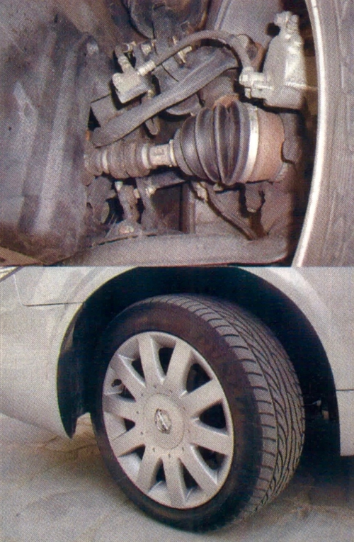 W nowej Primerze stosuje się koła o średnicy 16 albo 17 cali. Nawet niskoprofilowe ogumienie o szerokości 215 mm ani przednie zawieszenie z podwójnymi poprzecznymi wahaczami nie czynią z niej jednak auta sportowego. /Motor