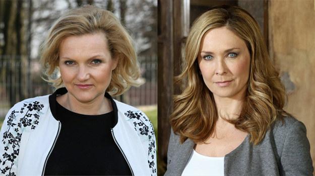 """W nowych odcinkach """"Barw szczęścia"""" pojawią się Ewa Bułhak (z lewej) i Dorota  Naruszewicz /Agencja W. Impact"""