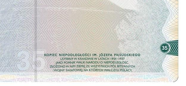 W nowym paszporcie pojawiła się błędna nazwa Kopca Piłsudskiego /Materiały prasowe