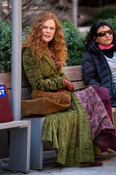 W nowym serialu Nicole zachwyca w idealnie skrojonych płaszczach / Gotham/GC Images /Getty Images