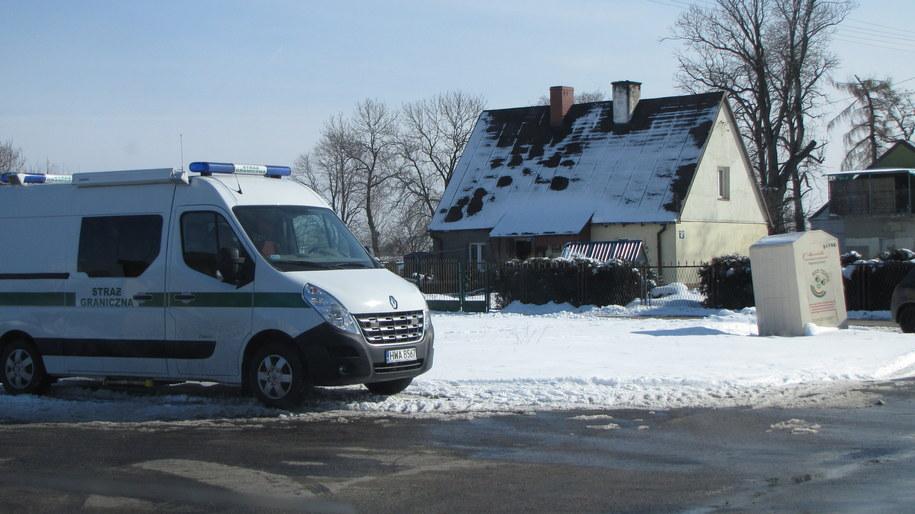 W obławę jest zaangażowana także Straż Graniczna /Daniel Pączkowski /RMF FM