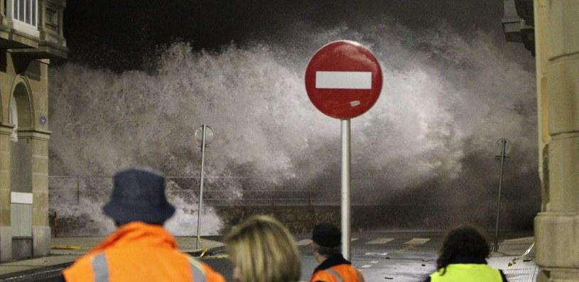 W oczekiwaniu na sztorm /ALFREDO ALDAI /PAP/EPA