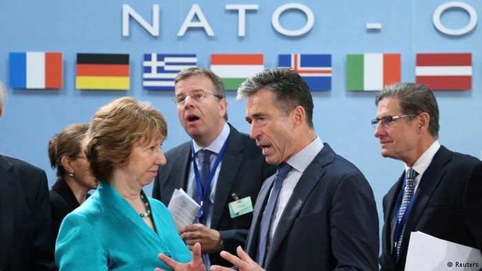 W odpowiedzi na postawę Rosji wobec Ukrainy NATO zapowiada dalsze ograniczanie kontaktów /Deutsche Welle