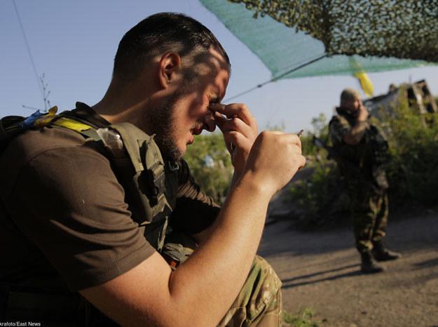 W okolicach Doniecka nie ustają walki/ Donieck, 3 sierpnia 2015 /Ukrafoto /East News
