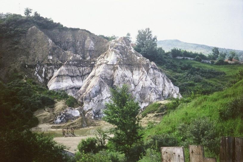 W okolicach miasteczka występują sporych rozmiarów odsłonięcia soli, które rzadko można spotkać w Europie /WikimediaCommons /domena publiczna