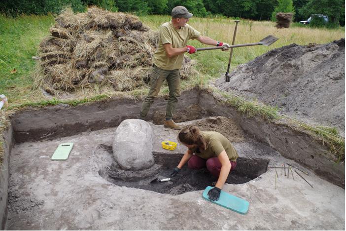 W okolicy Hajnówki odkryto starożytną osadę /Facebook