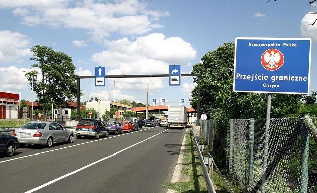 W Olszynie jest granica polsko-niemiecka. Fot. Marcin Oliva /Reporter