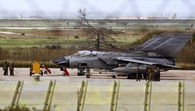W operacji uczestniczyły między innymi maszyny Tornado ECR /AFP