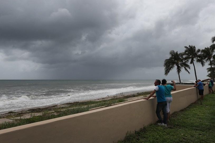 W opinii NHC Dorian już jest najpotężniejszym żywiołem na Atlantyku od czasu huraganu w Święto Pracy w 1935 roku /Joe Raedle  /AFP