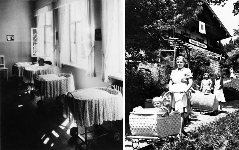 """W ośrodkach Lebensbornu kobiety """"rasowo wartościowe"""" rodziły dzieci dla III Rzeszy /Hulton Archive /Getty Images"""