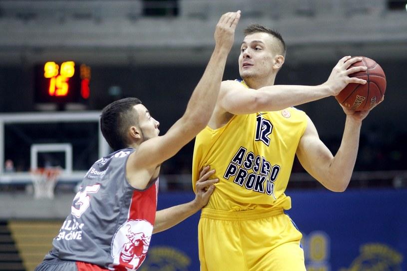 W ostatnich sezonach Polskę w Eurolidze reprezentował Asseco Prokom Gdynia /AFP