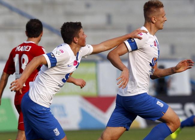 W ostatniej kolejce Ekstraklasy Teodorczyk zdobył bramkę przeciwko Górnikowi Zabrze /Andrzej  Grygiel /PAP