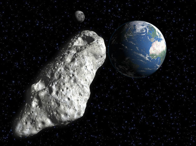 W ostatnim czasie rzeczywiście nie brakuje przelatujących blisko Ziemi asteroid /materiały prasowe
