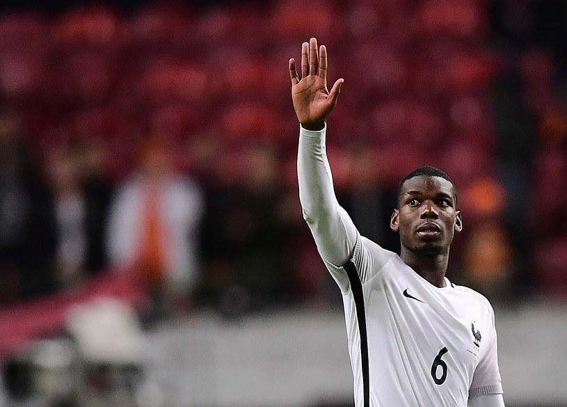 W ostatnim meczu eliminacji Francja pokonała Holandię 1-0 po golu Paula Pogby /AFP