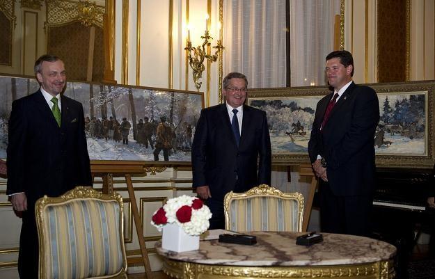 W ostatnim roku do Polski powróciły m.in. dwie akwarele Juliana Fałata /AFP