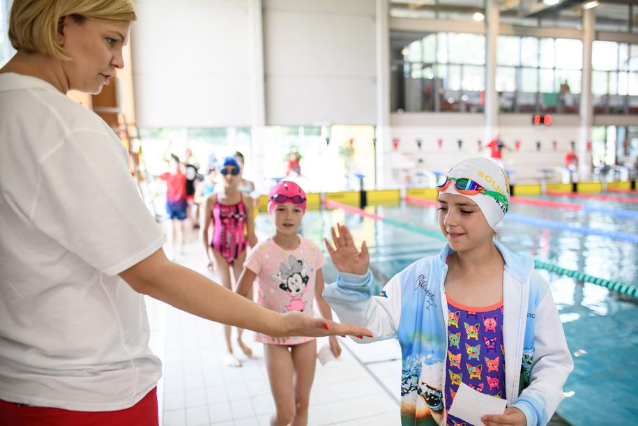W Otylia Swim Cup udział wzięło blisko 600 dzieci /Materiały prasowe