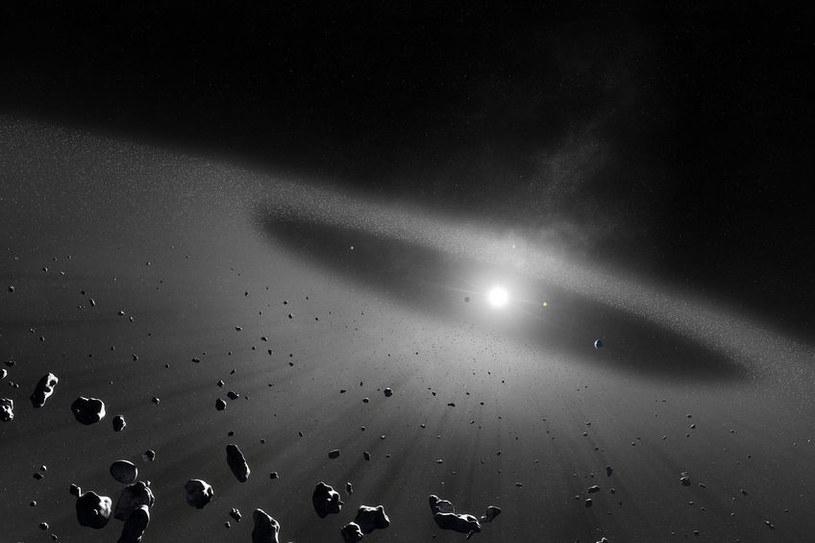 W Pasie Kuipera może być aż 100 nieznanych nam planet karłowatych /123RF/PICSEL