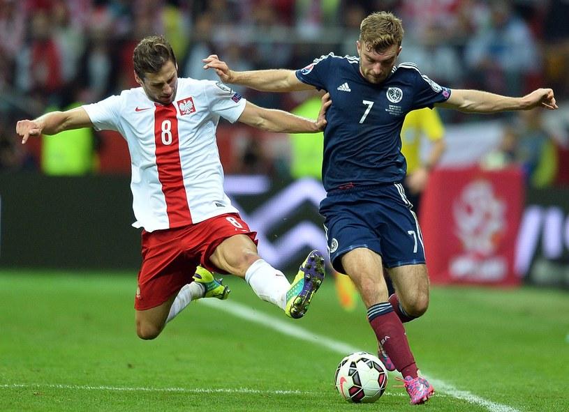 W październiku Polska zremisowała 2-2 ze Szkocją /AFP