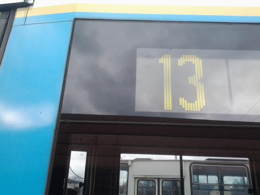 W piątek trzynastego mikrofon RMF FM pojawił się w krakowskim tramwaju numer 13. /Michał Dobrołowicz /RMF FM