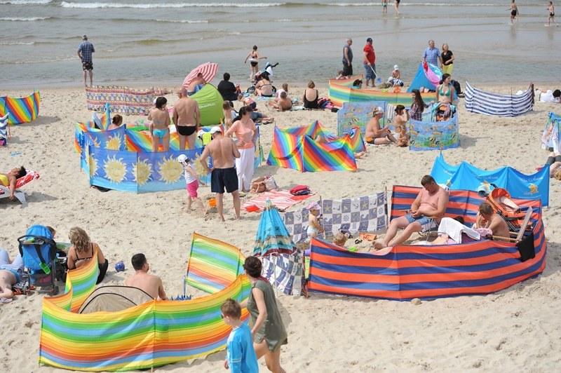 W pierwszej połowie lipca będzie sporo słonecznych i ciepłych dni /Marcin Bielecki /PAP
