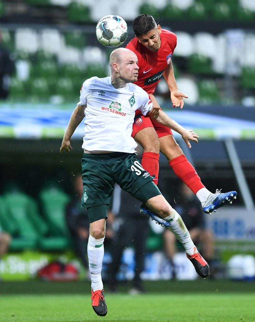 W pierwszym meczu barażowym pomiędzy Werderem Brema a Heidenheim padł bezbramkowy remis /Newspix