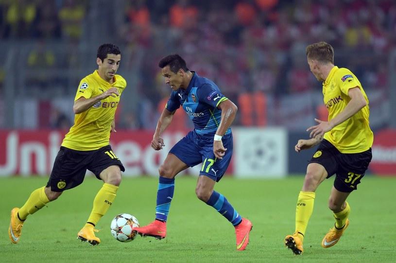 W pierwszym meczu Borussia wygrała z Arsenalem 2-0 /AFP