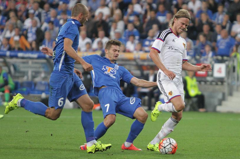 W pierwszym meczu Lech przegrał w Poznaniu 1-3 /Andrzej Grupa /INTERIA.PL