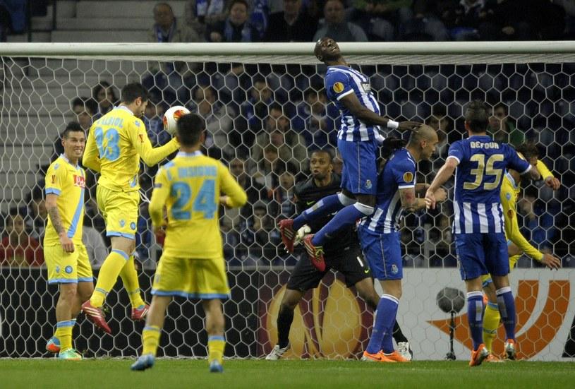 W pierwszym meczu Porto pokonało u siebie Napoli /AFP
