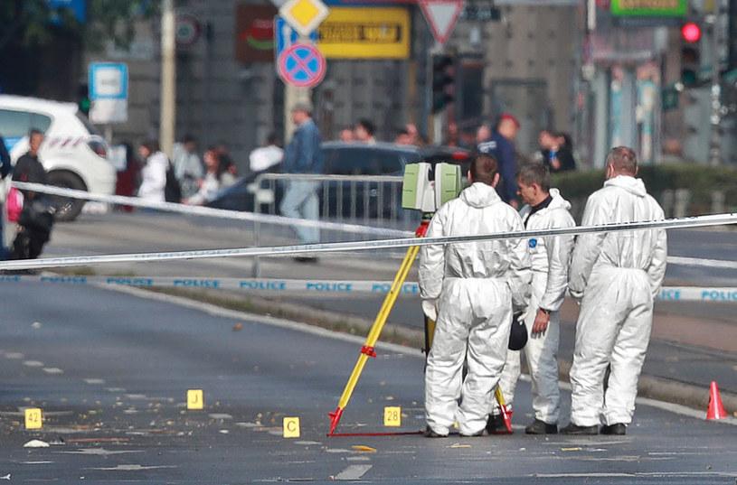W pobliżu miejsca eksplozji znaleziono gwoździe /AFP