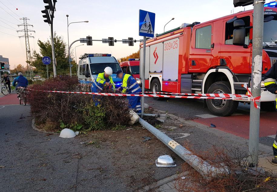 W pobliżu miejsca wypadku znajduje się szpital /ReporterWRO /Gorąca Linia RMF FM