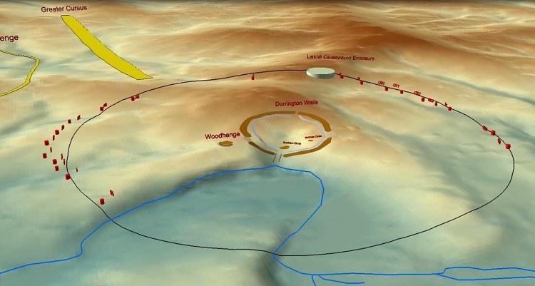 W pobliżu Stonehenge odkryto nieznany wcześniej krąg /materiały prasowe