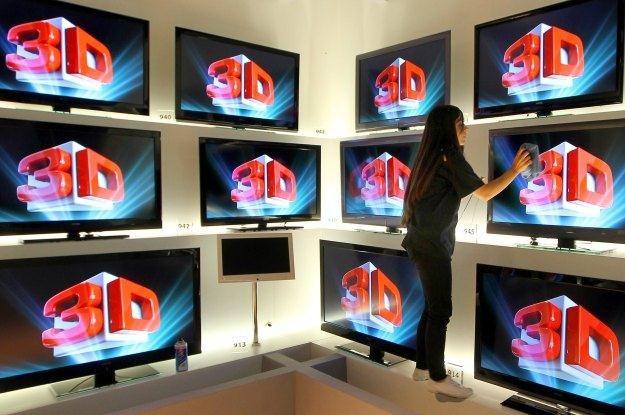 W Polsce możemy oglądać coraz więcej kanałów 3D /AFP